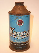 12oz Kessler Beer Cone Top - Kessler Brewing Co. Helena, Mt.
