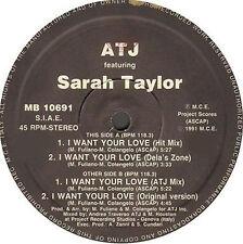 ATJ FEAT SARAH TAYLOR - i want your love - mega beat