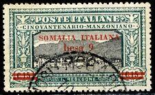 Somalia 1924 Manzoni n. 56 - usato (m432)
