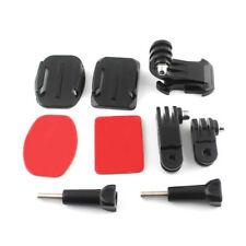 Helmet Front Side Mounting Kit with Curved and Flat Mount for Gopro HD 2 3 3+ 4