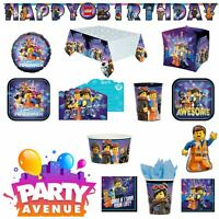 Official Lego Movie 2 Childrens Birthday Party Celebration Balloons Tableware