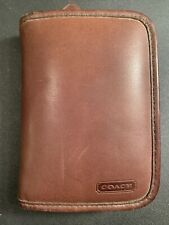 Vintage Coach Palm Pilot Case Brown