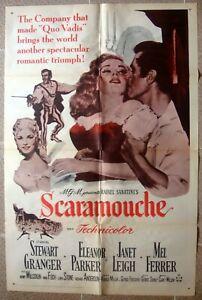 "SCARAMOUCHE One sheet Original US Movie Poster George Sidney Film 27x41"" 1970 NM"
