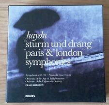 Joseph Haydn: Sturm und Drang, Paris & London Symphonies / Franz Bruggen / RARE!