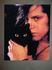 Danzig Black Cat Halloween Promo Photo 8x10 Record Insert Misfits