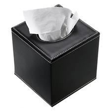 Stylish PU Leather Tissue Box Holder Napkin Holder Pumping Paper Case Dispenser