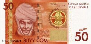 Kirghizistan -Kyrgyzstan 2016 billet neuf de 50 Som pick 25b UNC Uncirculated
