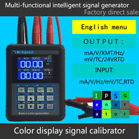 2020 Smart Calibrator Current Signal Generator 4-20ma Generator MR2.0  TFT PRO+