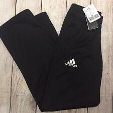 Adidas Climawarm Boys Fleece Athletic Pants Size M New Black