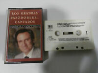 MANOLO ESCOBAR LOS GRANDES PASODOBLES CANTADOS - CASSETTE TAPE CINTA BELTER 1982
