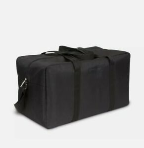 Giorgio Armani Large Bag Black Weekender Duffel Gym Sport Travel + dust bag NEW