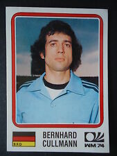 Panini 65 Bernhard Cullmann Deutschland WM 74 World Cup Story