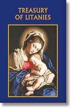 Treasury of Litanies NEW Paperback (LS002) 96 Pages, 30 Litanies, Catholic