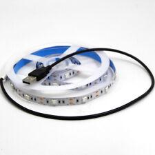 USB 5V REAL UV Ultraviolet LED Strip Light Tape Lights SMD 5050 LEDs Blacklight