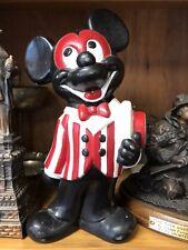 "Vintage Mickey Mouse Ceramic Walt Disney Prod "" Black "" Hand Painted"
