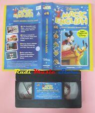 film VHS MAGIC ENGLISH DISNEY'S VOL. 4 Quante case Happy houses  (F148) no dvd