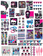 Monster High Ghouls Complete Birthday Party Supply Set ~ Brand New In Packages