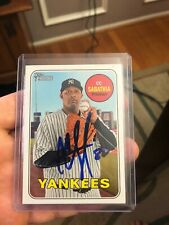 2018 Topps Heritage CC Sabathia signed auto autograph Yankees