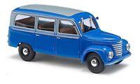 BUSCH 51251 H0 1:87 Framo V901/2, Bus, Bleu neuf emballage d'origine