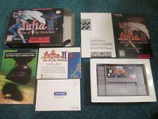 Lufia and the Rise of Sinistrals (Super Nintendo SNES) Complete CIB - Nice!