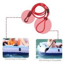 KAYAK PADDLE LEASH - Canoe /Fishing Rod/Surf Ski Board Lanyard Red 113cm