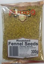 300g ROASTED FENNEL SEEDS - FUDCO- TOP QUALITY