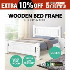 Unbranded Timber Panel Beds