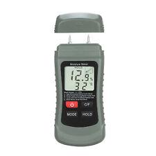 Digital Damp Wood Moisture Meter Tester Water Leak Moisture Detector 4modes A1h4