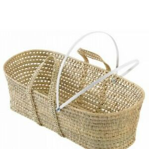A Replacement Set Of Moses Basket Bars And Metal Fittings  (Basket Not Included)