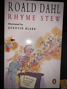 Rhyme Stew by Roald Dahl (Paperback, 1990)
