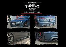 Bodykit Frontspoiler Diffusor Schweller ABS für Audi TTS 8J Coupe Roadster ABE