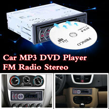 Bluetooth 1DIN Car MP3 Player FM Radio Stereo CD/DVD/VCD/USB/TF-card/Audio/AUX