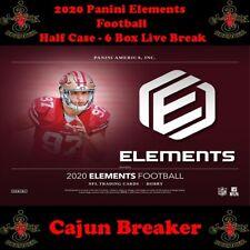 GREEN BAY PACKERS *HALF CASE - 6 BOX LIVE BREAK* 2020 ELEMENTS FOOTBALL