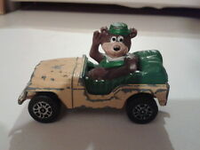 scruffy 1981 Yogi Bear car/jeep Corgi