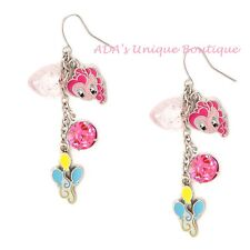 Drop Earrings Pink Hasbro Mlp Stars My Little Pony Pinkie Pie Charms Mismatched