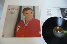 CHARLES AZNAVOUR LP COMPILATION TREMA IL FAUT SAVOIR/ TROP TARD/ET POURTANT...