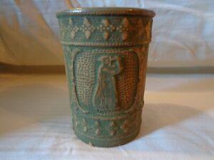 "UNION STONEWARE - RED WING - Rare Stoneware  Muse Mug 4 3/4""x 3"""