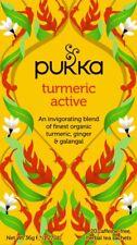 Pukka Organic Herbal 20 Tea Sachets Teabags - Turmeric Active