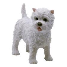 """West Highland White Terrier Westie Dog Figurine 3.25"""" High Polystone Statue New!"""