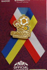 BADGE UEFA EURO 2012 POLAND-UKRAINE FOOTBALL SOCCER