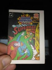 SUPERMAN 1 BURGER KING VARIANT KENNER SUPER POWERS MINI COMIC GIVEAWAY PROMO NM