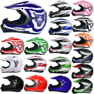 LEO LEOX15-X19 Kinder Moto cross Helm Motorradhelm MX Junior Optional