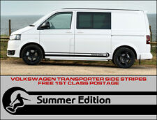 Volkswagen Vw Rayas Laterales calcomanías Transporter T4 T5 autocaravanas Surf Verano