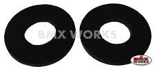 Flite Old School BMX Grip Donuts - Pairs - Black