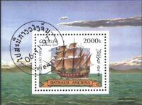 Laos Block164 (kompl.Ausg.) gestempelt 1997 Segelschiffe