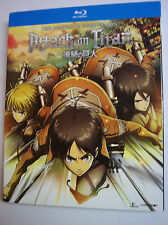 Attack on Titan: The Complete Season One w/Slipcover (Blu-ray Disc, 2017)
