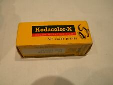 Sealed In Box Kodak Kodacolor-X Color Print Film CX120 Exp. March 1970