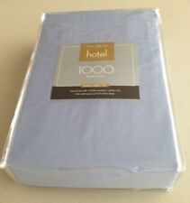 NEW West Point Hotel Collection 1000 Count QUEEN Sheet Set Color: Forever Blue