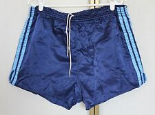 Vintage 80s Adidas Nylon Shiny Glanz Sprinter Shorts Made in Yugoslavia L