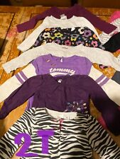 infant nb-2T girls lot, over 400 items, many different brands and sizes